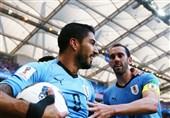 جامجهانی 2018| اروگوئه با پنجاهودومین گل ملی سوارس فاتح نیمه اول بازی با عربستان شد