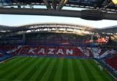 گزارش خبرنگار اعزامی تسنیم از روسیه|هواداران ایرانی پشت درهای ورزشگاه/ 20 درصد ورزشگاه پُر شد