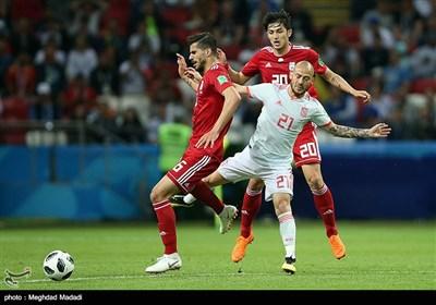 جام جهانی 2018| شکست نزدیک تیم ملی مقابل اسپانیا/ زجر ماتادورها در شبی که ویدئو چک علیه ایران بود