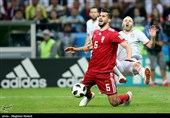 Iran Midfielder Ezatolahi Concentrates on Portugal's Match