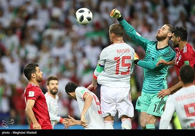 Spain's Accidental Goal Breaches Iran's Great Defense in World Cup 2018