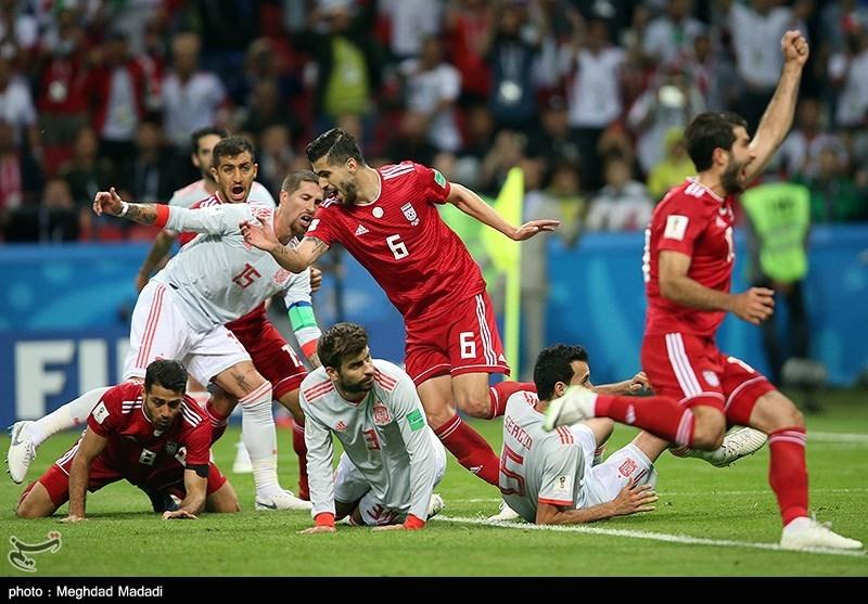 جام جهانی 2018| از شادی گل تا فرود غیرطبیعی و ناامیدی انصاریفرد + عکس