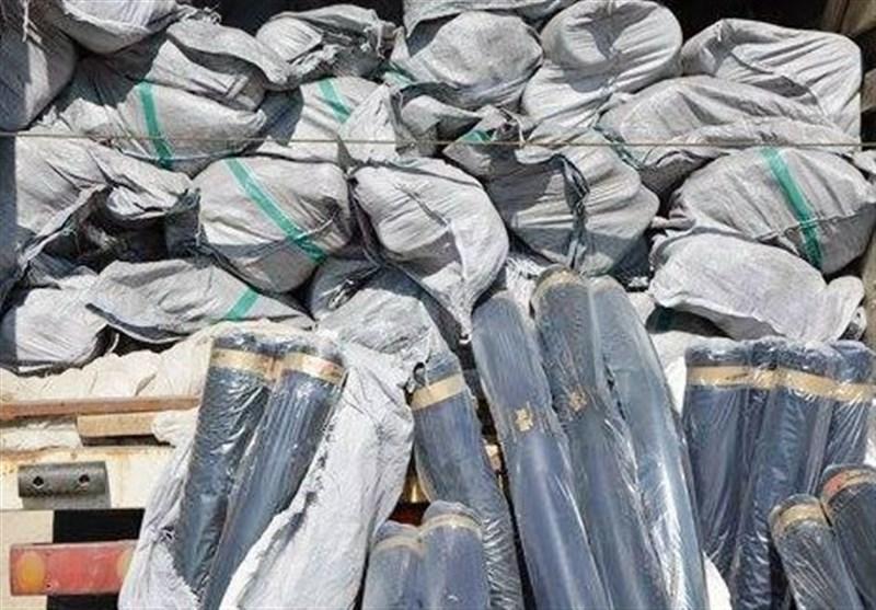 بوشهر|کشف 12 میلیارد ریال پارچه قاچاق خارجی در گناوه