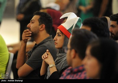 تماشاگران فوتبال ایران اسپانیا