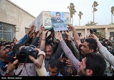 استقبال از شهید مدافع حرم سید فاضل موسوی - اهواز