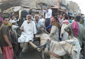 خصوصی تصویری رپورٹ | وڈیروں کیخلاف کمربستہ گدھا گاڑی پر الیکشن مہم چلانے والا امیدوار