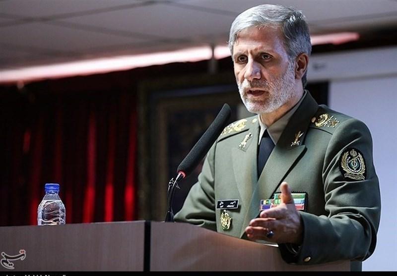 وزیر الدفاع الإیرانی: تغییر الحدود الجغرافیة هو هدف العدو الرئیسی
