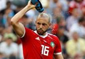 جام جهانی 2018| ادعای جالب مهاجم مراکش در مورد داور آمریکایی و رونالدو