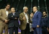 لیگ ملتهای والیبال|بازدید وزیر ورزش از مراحل آماده سازی سالن آزادی