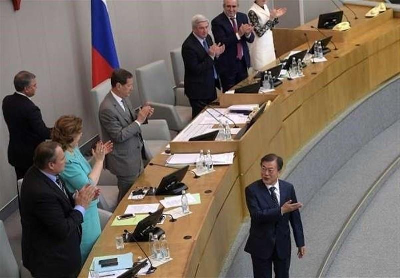 مون: التعاون مع موسکو هو مفتاح لتحقیق السلام فی شبه الجزیرة الکوریة