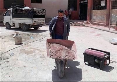 """داریا"" السوریة تنفض غبار الإرهاب +صور"