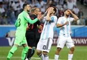 جام جهانی 2018|کرواسی با تحقیر آرژانتین صعود کرد/ مارادونا هم نتوانست به یاران مسی روحیه بدهد