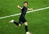 جام جهانی 2018| مودریچ: کاملاً شایسته برتری مقابل آرژانتین بودیم/ مسی را مهار کردیم