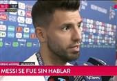 پاسخ آگوئرو به انتقاد سامپائولی از عملکرد بازیکنان آرژانتین