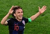 جام جهانی 2018| مودریچ: یک بار دیگر شخصیتمان را نشان دادیم