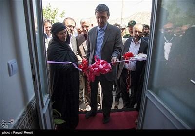 دومین روز سفر پرویز فتاح رییس کمیته امداد امام خمینی (ره) به کرمانشاه