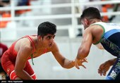 کرج| ایران بر سکوی طلایی کشتی نونهالان آسیا ایستاد