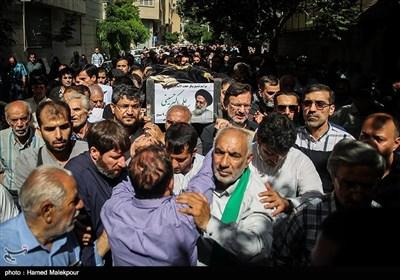 تشییع پیکر حجتالاسلام سیدعلیاکبر حسینی استاد اخلاق