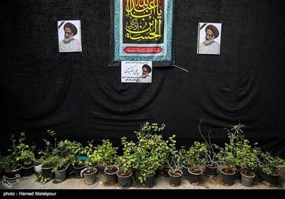 مراسم تشییع پیکر حجتالاسلام سیدعلیاکبر حسینی استاد اخلاق در مسجد فائق