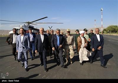 سفر عبدالرضا رحمانی فضلی وزیر کشور به خراسان شمالی