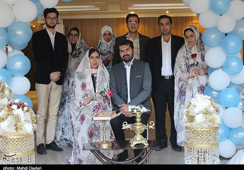 بیست و یکمین جشن ازدواج دانشجویی دانشگاه علوم پزشکی تبریز به روایت تصویر