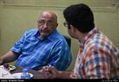عبدالحمید قدیریان مدیر دفتر مطالعات راهبردی حوزه هنری در میزگرد هنرهای تجسمی