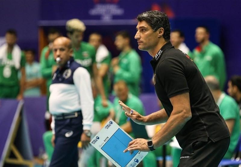 لیگ ملتهای والیبال  جیانی: کیفیت بازی ما با بلغارستان اصلاً بالا نبود