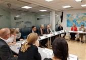 حضور صالحی در موسسه مطالعاتی امور بین الملل نروژ