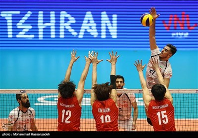 Volleyball Nations League: Iran Beats South Korea