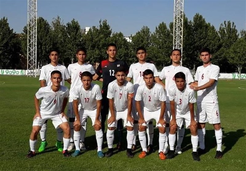 Friendly: Iran U-16 Football Team Beats Azerbaijan