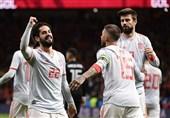 جام جهانی 2018|تقدیر از ایسکو و پیکه بعد از بازی برابر ایران + عکس