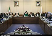 تشکیل جلسه مجمع تشخیص مصلحت بعد از 2 ماه/ عدم حضور سران قوا + عکس