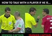 گزارش خبرنگار اعزامی تسنیم از روسیه| صحنههایی از داوری بازی ایران و اسپانیا که صدای کیروش را درآورد