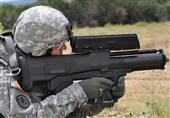 استفاده نظامیان آمریکایی از تسلیحات جدید در افغانستان + فیلم