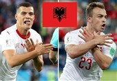 جام جهانی 2018| فیفا برای مجازات دو بازیکن خاطی سوئیس دست به کار شد