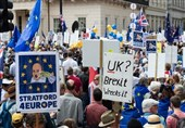 Huge Anti-Brexit Demonstration Throngs Central London
