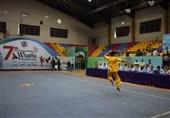 مسابقات ووشو جام پارس ـ گرگان  ورزشکاران ایرانی مدالهای بخش تالو را جمع کردند