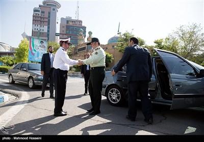 سردار حسین اشتری رئیس پلیس کشور در همایش روسا و مدیران اقتصادی پلیس راهور ناجا