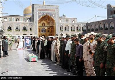 تشییع پیکر شهید مرزبان جلال بهبودی طرقی - مشهد