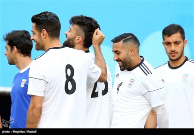 Iran Gear Up for Portugal Match in World Cup 2018
