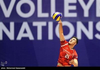 دیدار تیمهای والیبال ایران و آلمان