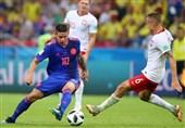 جام جهانی 2018| برتری قاطع کلمبیا مقابل لهستان از نگاه آمار