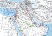 خط آهن حیفا- خلیج فارس؛ زیربنای استعمار جدید منطقه + نقشه