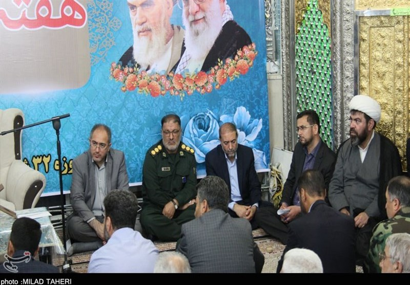 برگزاری مراسم گرامیداشت هفته قوه قضائیه در مسجد مهدی القدم ارومیه + تصاویر