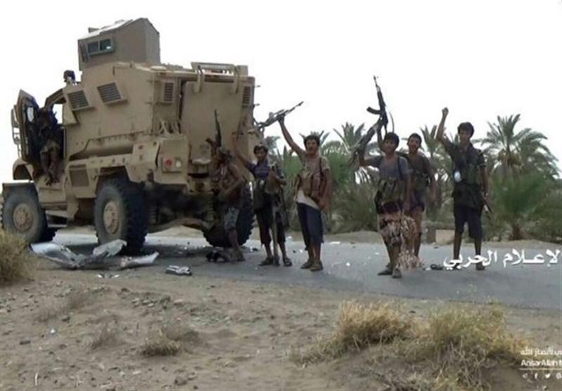 فیلم/صحنههای منحصر به فرد نبرد با متجاوزان در ساحل غربی یمن