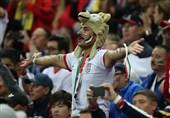 جام جهانی 2018 هواداران ایرانی، رونالدو و یارانش را بیخواب کردند+فیلم