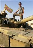 روایت تصویری شهید فاطمیون از تک تیراندازی تا فرماندهی توپخانه
