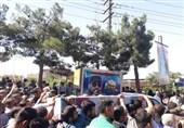 مراسم تشییع سردار داییپور برگزار شد