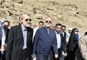 لاریجانی از تکمیل پروژه آزادراه تهران- شمال در استان البرز بازدید کرد