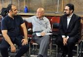 بازدید معاون هنری از ارکستر سازهای ملی پیش از سفر به قزاقستان